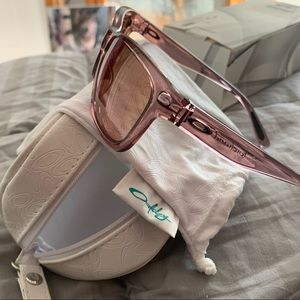 Oakley pink sunglasses brand new sale forehand